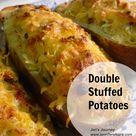 Double Stuffed Potatoes