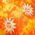 Orange Sun Beach Sarong Swimsuit Cover Up