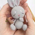 Crochet pattern Sleepy BUNNY amigurumi bunny pdf tutorial amigurumi bunny pattern by NansyOops