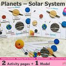 Solar System Learning Planets Activity  INSTANT PRINTABLE   Etsy