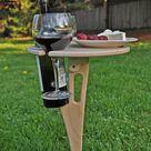 Outdoor Wein Tisch / Falten Wein Tisch / Wein-Liebhaber-Geschenk / personalisiert/Tailgating/Weihnachtsgeschenk / Outdoor unterhaltsam/kostenloser Versand USA