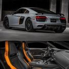 VIDEO 2017 Audi R8 V10 Plus Exclusive Edition gets full LED headlights with laser high beam