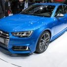 2017 Audi S4 Debuts, Drops Manual Option