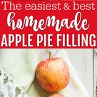 Easy Apple Pie Filling for Canning or Freezing