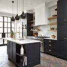 Rich and Moody Cabinet Paint Colors + A Winner!