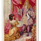 30cm Photo. Marie Louise makes her petition to the king (colour