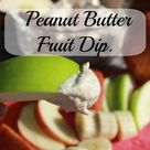Fruit Dips