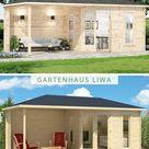 5-Eck Gartenhaus Liwa