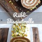 Super leckere selbstgemachte Rübli-Bisquitrolle - perfekt für Ostern