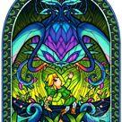 Zelda Wind Waker Fan Art Lost Windows Kalle Demos by aquanut on deviantART