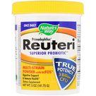 Nature's Way, Primadophilus, Reuteri Superior Probiotic, Multi-Strain Powder with scFOS