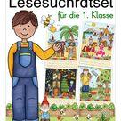 Lesen und Malen Deutsch 1. Klasse    #übungenfürzwischendurch