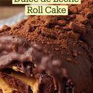Chocolate & Dulce de Leche Roll Cake