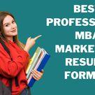 MBA Marketing Resume