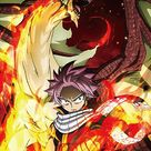 Fairy Tail - Natsu & Dragon Sublimation Throw Blanket [PreOrders SoldOUT]