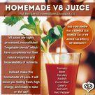 Homemade V8 Juice