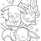 52 Coloriages Pokémon à Imprimer & à Colorier