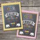 Elephant First Birthday