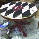 Painted Round Tables