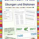 Zahlenraum 10000 - Übungen und Stationen