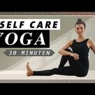 Yoga für einen gesunden Rücken   Übungen gegen Verspannungen   Self Care Routine für jeden Tag