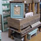 NEW IN MY BOOTH AT STARS Rustic weathered wood beach furniture.