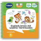 Vtech Lernstufe 1   Englisch Lernen Mit Unseren Tierfreunden 3d Lernbuch, Mehrfarbig ,mehrfarbig