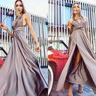 Grey Convertible Dress - Elegant Dress For Women - Homecoming Dress - Infinity Bridresmaid Dress - Long Dress - Handmade by TTBFASHION