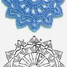CROCHET PATTERN  Floral Fantasy  5 Colorful Crochet Flower | Etsy