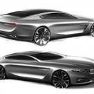 BMW Pininfarina Gran Lusso Coupé design video