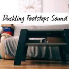 The sound of the little runner duckling's footsies will definitely melt your heart!