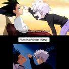 ⇡↬Hunter x Hunter 1999 vs Hunter x Hunter 2011↫⇣