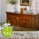 How to Decorate a Buffet
