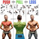Push/Pull/Legs Split: 3-6 Day Weight Training Workout Schedule and Plan - GymGuider.com
