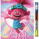 DreamWorks Trolls 2 - Poppy Poster and Poster Clip Bundle