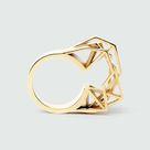 RADIAN jewellery -Solitärring | Massives 585 Gold