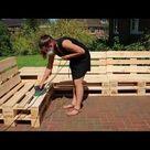 Tisch & Sessel aus Paletten bauen: DIY-Anleitung + Video