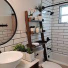 Over the Toilet Ladder Shelf   Etsy