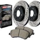 StopTech Disc Brake Pad and Rotor Kit