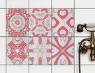 Fliesenaufkleber Set Rechteckig Fur Kuche Bad Design Strawberry Cheese Tile Fliesenaufkleber Bad Design Fliesenfolie