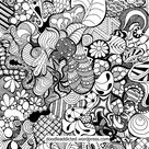 Tangled Doodle Art in Time-Lapse
