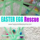 Easter Egg Rescue - Fine Motor Activity