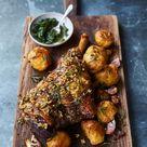 Best roast leg of lamb recipe   Jamie Oliver lamb recipes