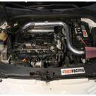HPS Red Shortram Air Intake w/ Heat Shield for 06 08 Audi A3 2.0T Turbo FS