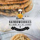 Rainbow Cookies: Cookies mit M&Ms wie bei Subway | BackIna.de