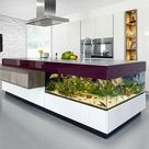 15 Creative Ideas for Modern Interior Design and Decorating with Aquariums