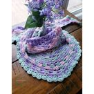 Wildflower Crochet Shawl