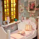 ♥ Custom Handmade Diorama Sweet Roses  ♥