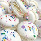 Funfetti Cake Batter Macarons