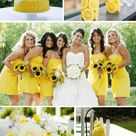 9 Gorgeous Yellow Spring Wedding Color Combos